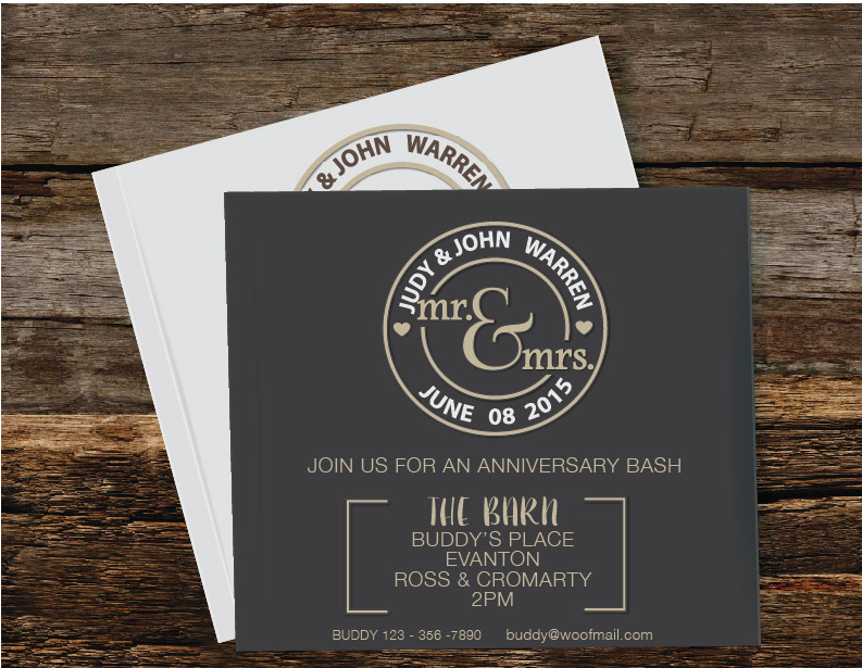 WEDDING INVITE GRAPHICS
