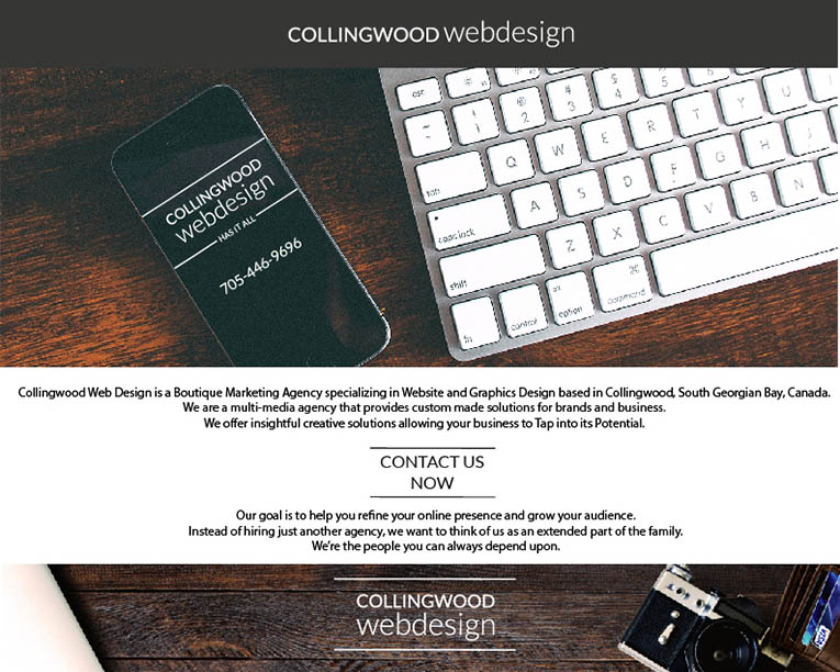 collingwood web design