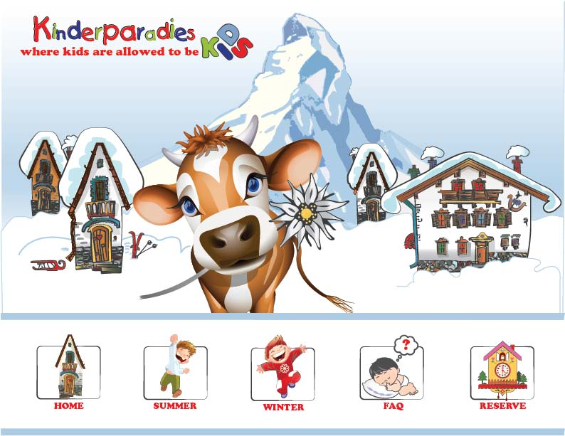 kinderparadis zermatt switzerland